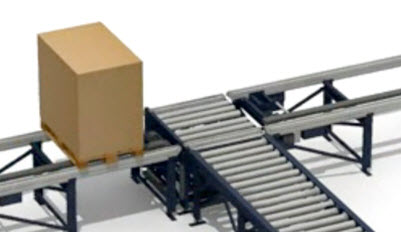 Cross transfer with rollers and chains (CT)