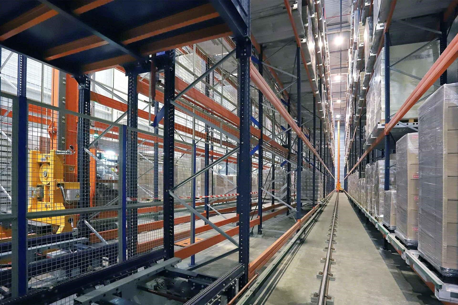Automated warehouses: definition and levels of automation