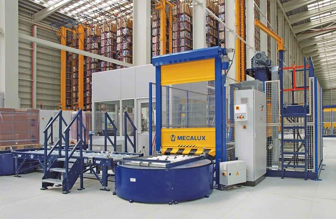 In automated warehouses, the pallet checkpoint is responsible for quality control after the receipt of goods.
