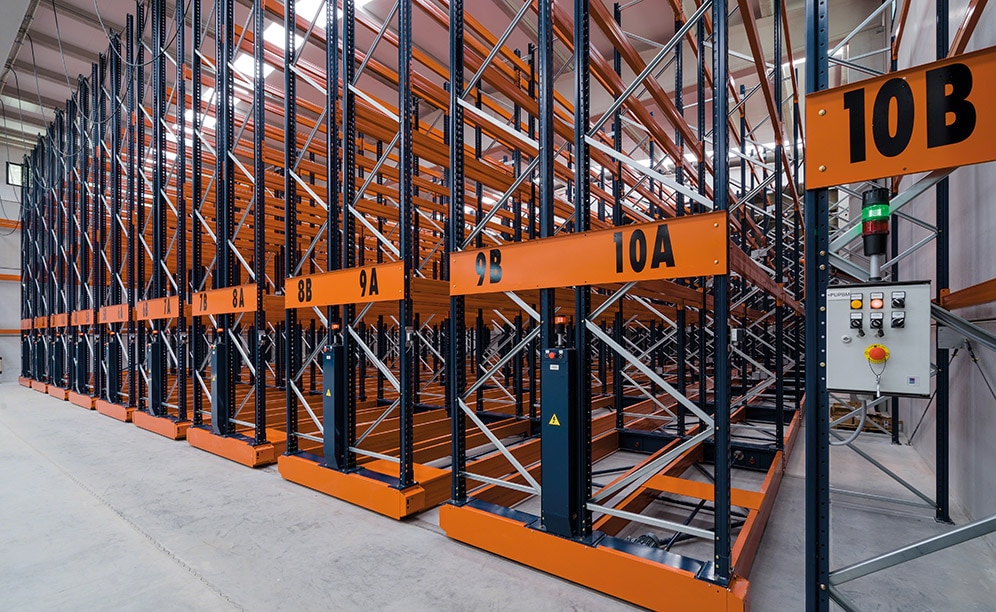 Three frozen-storage chambers Montfrisa Spain