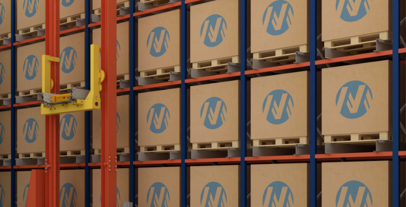 Automated logistics processes with the Pallet Shuttle system