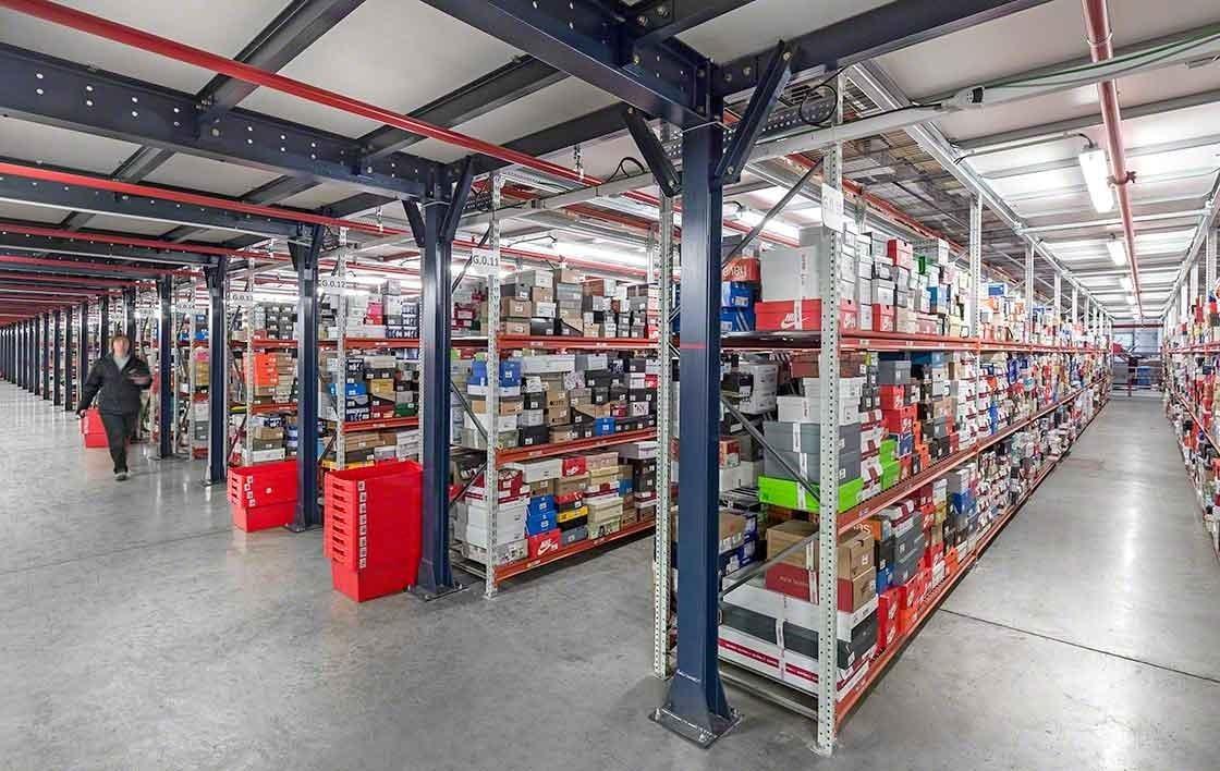E-commerce logistics must manage a huge number of SKUs