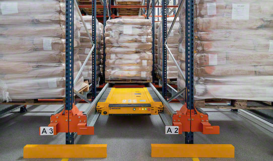 Automated Storage and Retrieval Systems AS/RS - Interlake