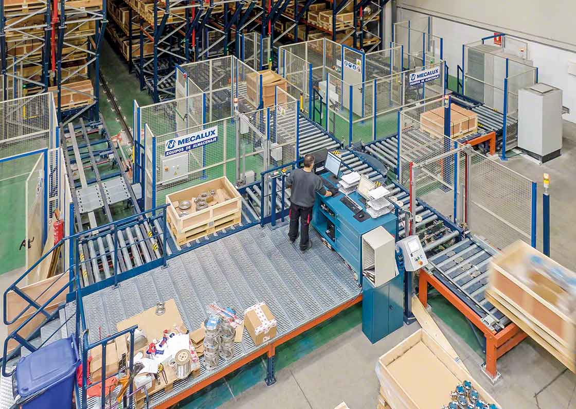 The WMS supplier must have experience in integrating warehouse systems.