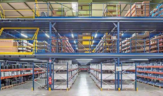 Mezzanine Floor Racking Systems