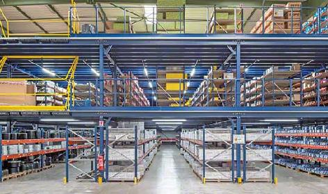 Mezzanine Floor Racking Systems