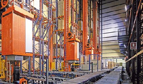 Stacker Cranes (AS/RS for Pallets)