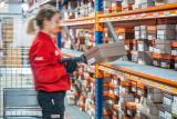 With pick-to-cart operators go directly to the location of the products