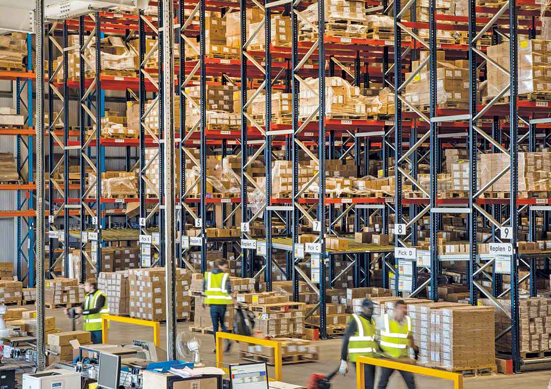 Excess safety stock can take up valuable warehouse space