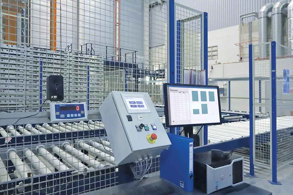 The control software for the automated systems is updated regularly, as is the WMS