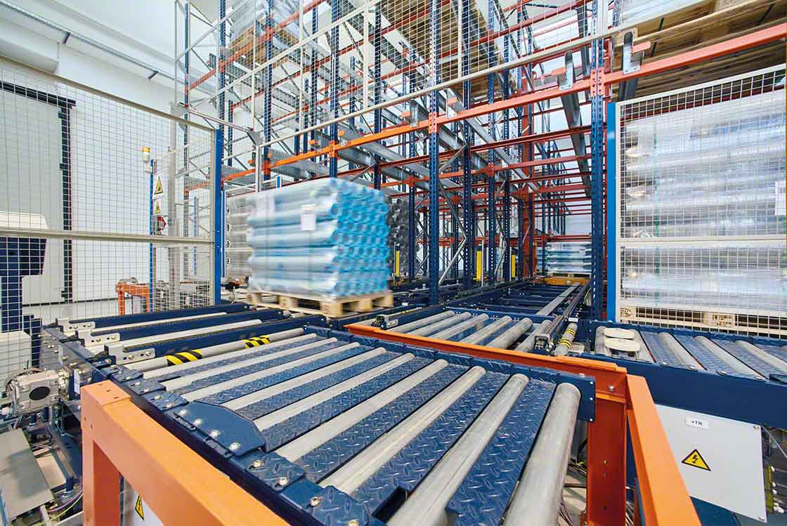 Automation of load movements reduces warehouse lead times, improving product turnover