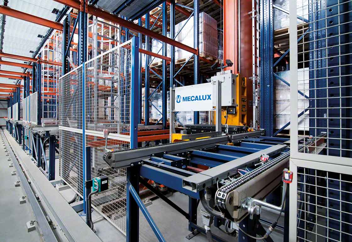 Automated systems facilitate safe load handling in chemical warehouses