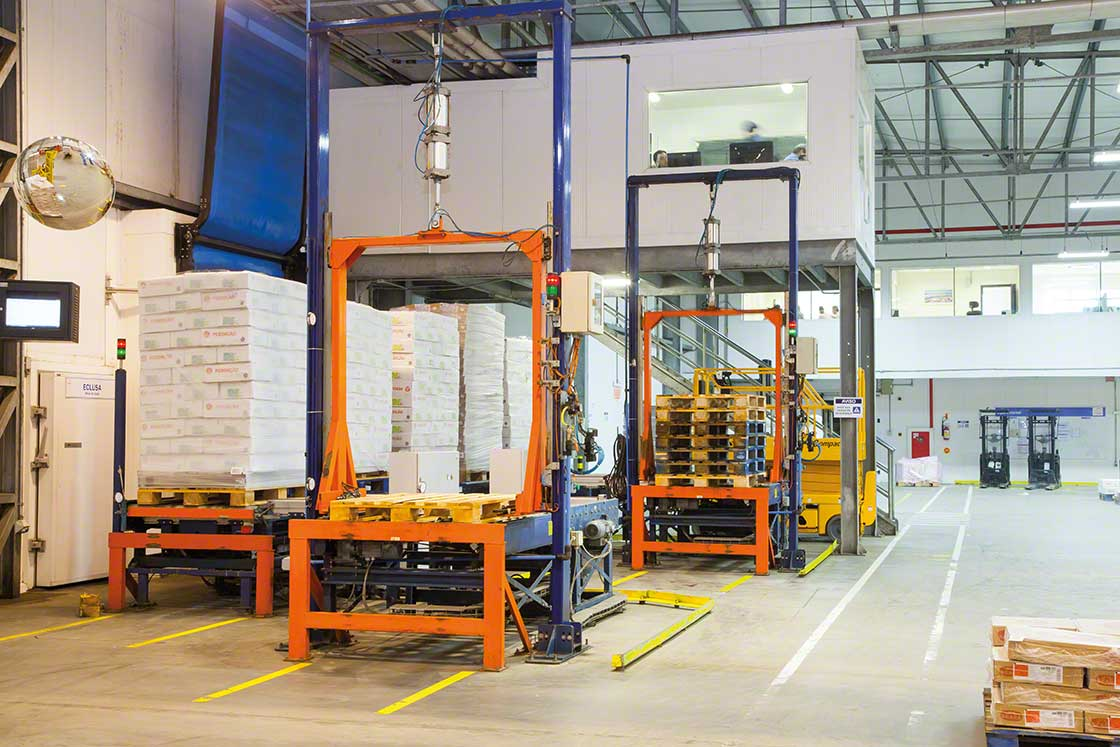 Checkpoints help to conduct real-time inventory by managing the information linked to each inbound pallet