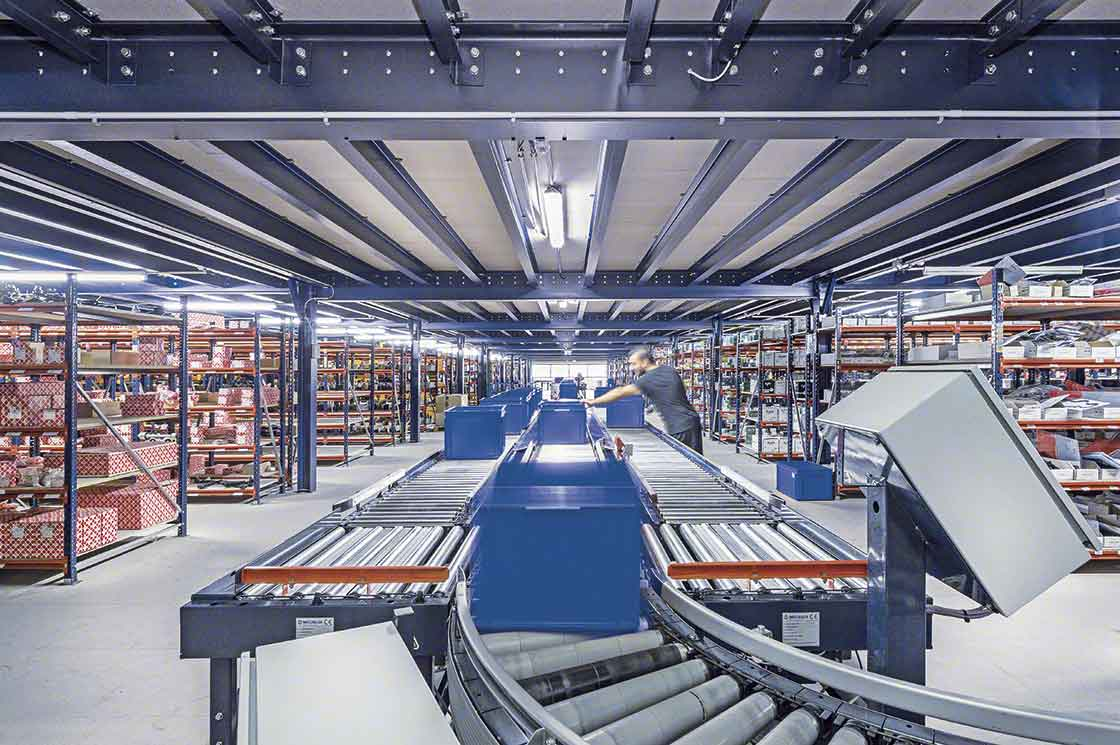 Online order picking is the main operation carried out in micro-fulfillment centers