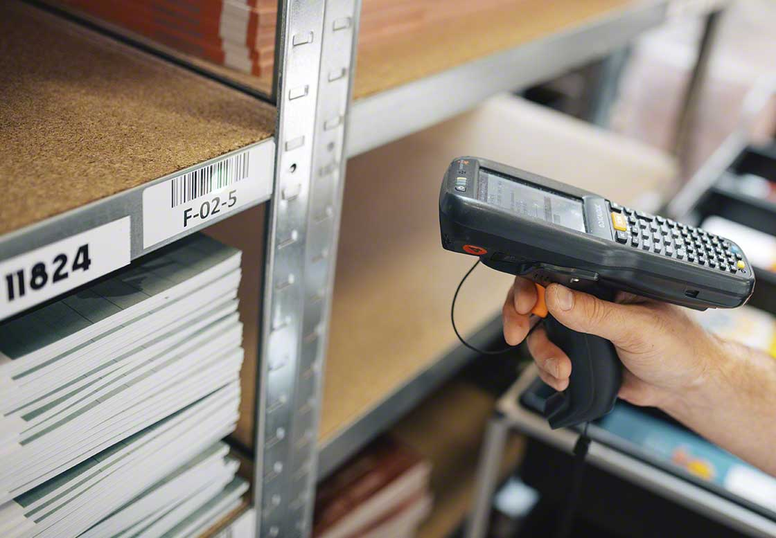 Barcodes are the most widespread coding system in logistics: they easily and accurately identify products