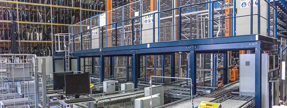 Zbeda Group: nearly 20,000 boxes in only 7,535 ft²