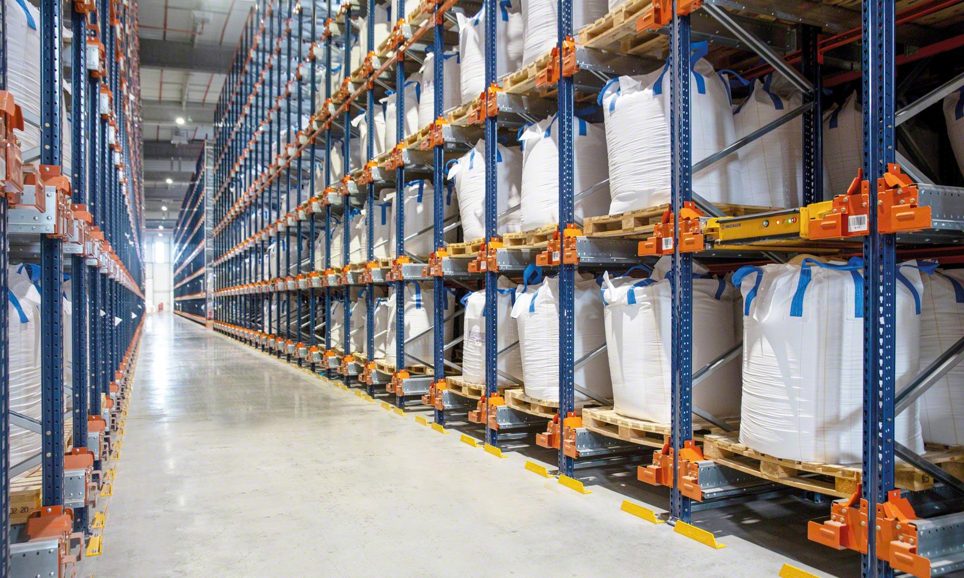 Groupe Bert: same storage capacity, 73% less surface area