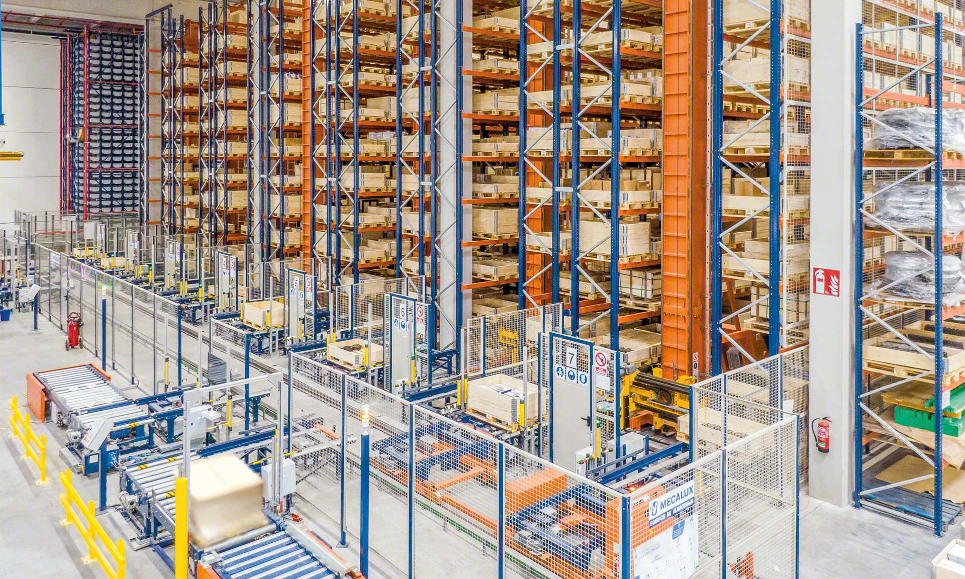 Industrias Yuk: centralized logistics, five warehouses in one with over 13,000 SKUs