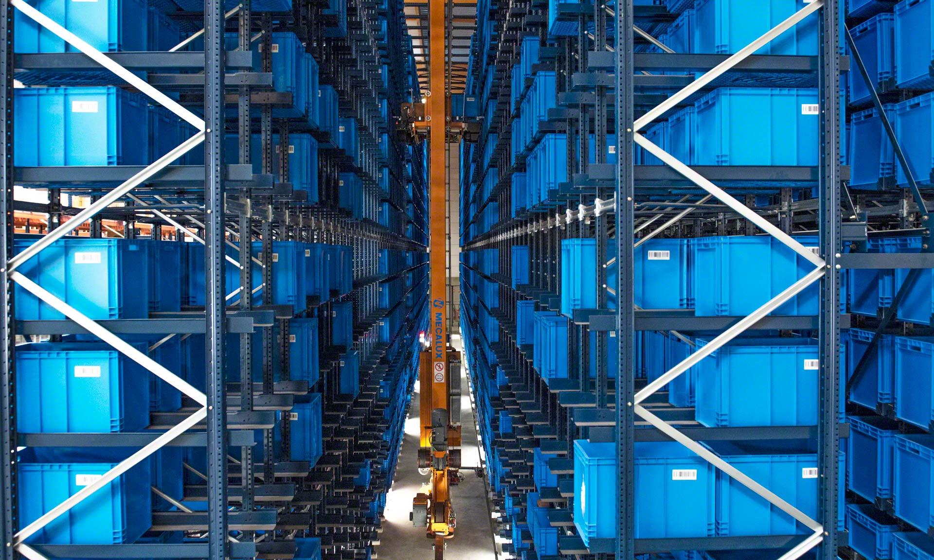 FIC: 60% of SKUs stored in 5% of floor space