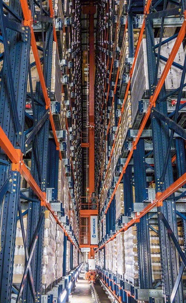 Automation increases warehouse output