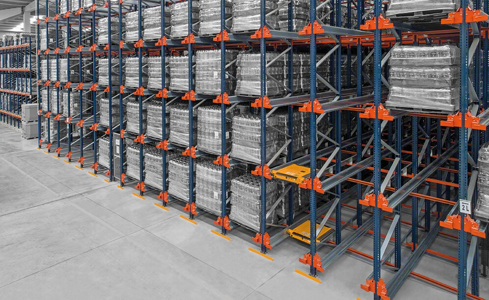 Compaction systems maximise space for more pallets to house more pallets