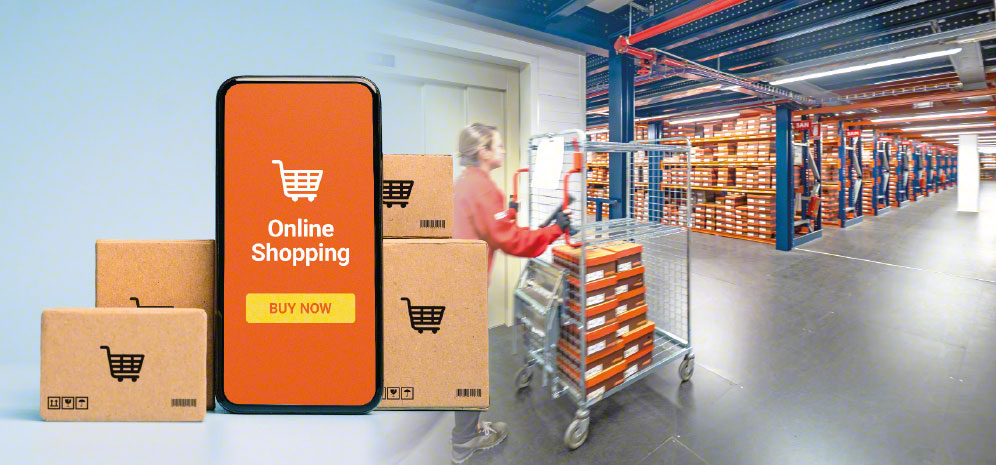 E-commerce warehouses manage large numbers of SKUs