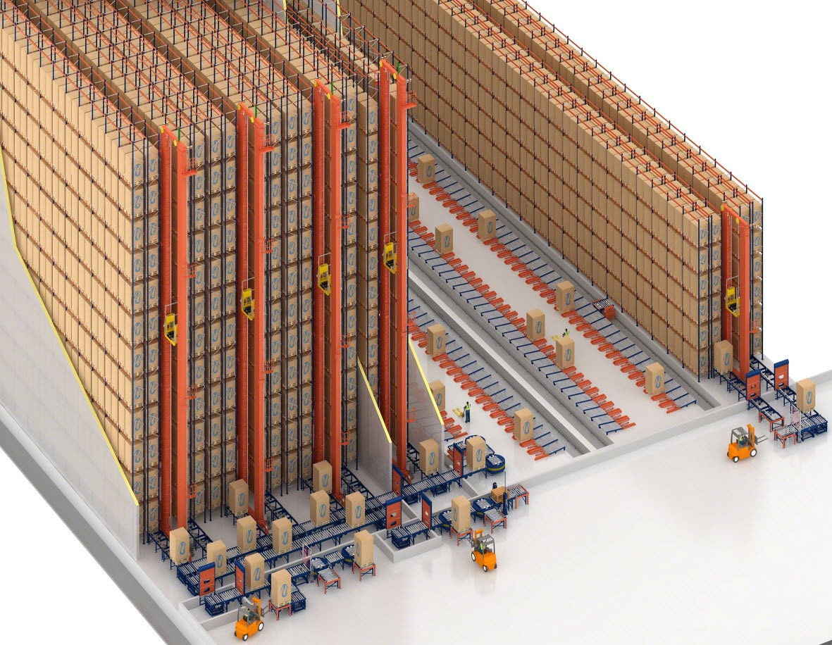 Frozen and refrigerated warehouses go automated